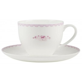IB Laursen Tasse mit Untertasse Cottage Rose 2  2401-00